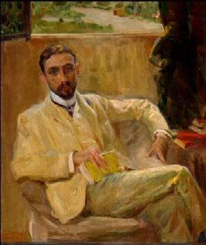 Juan Ramón Jimenez (Pintado por Sorolla)